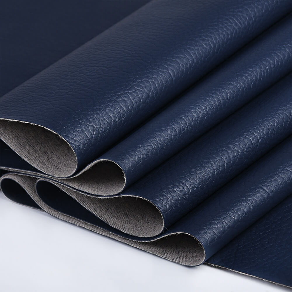 Soft faux leather fabric