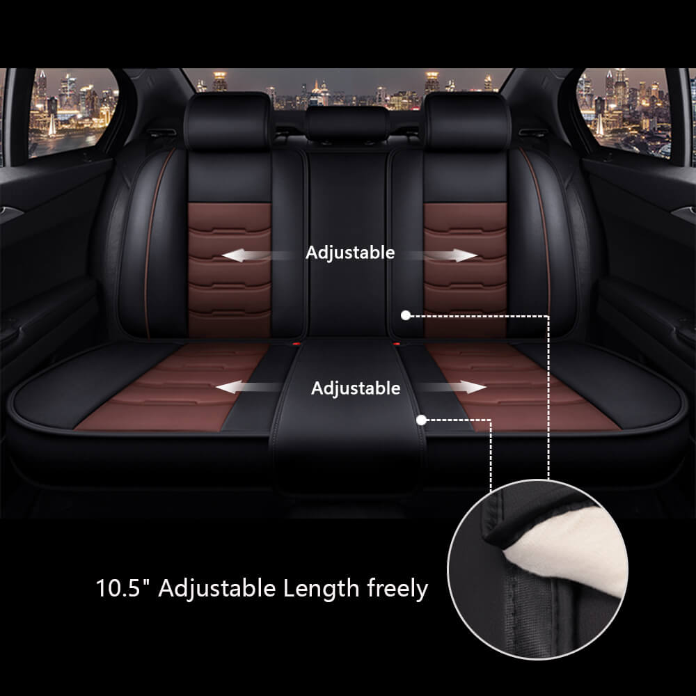 Adjustable length of the car seat covers
