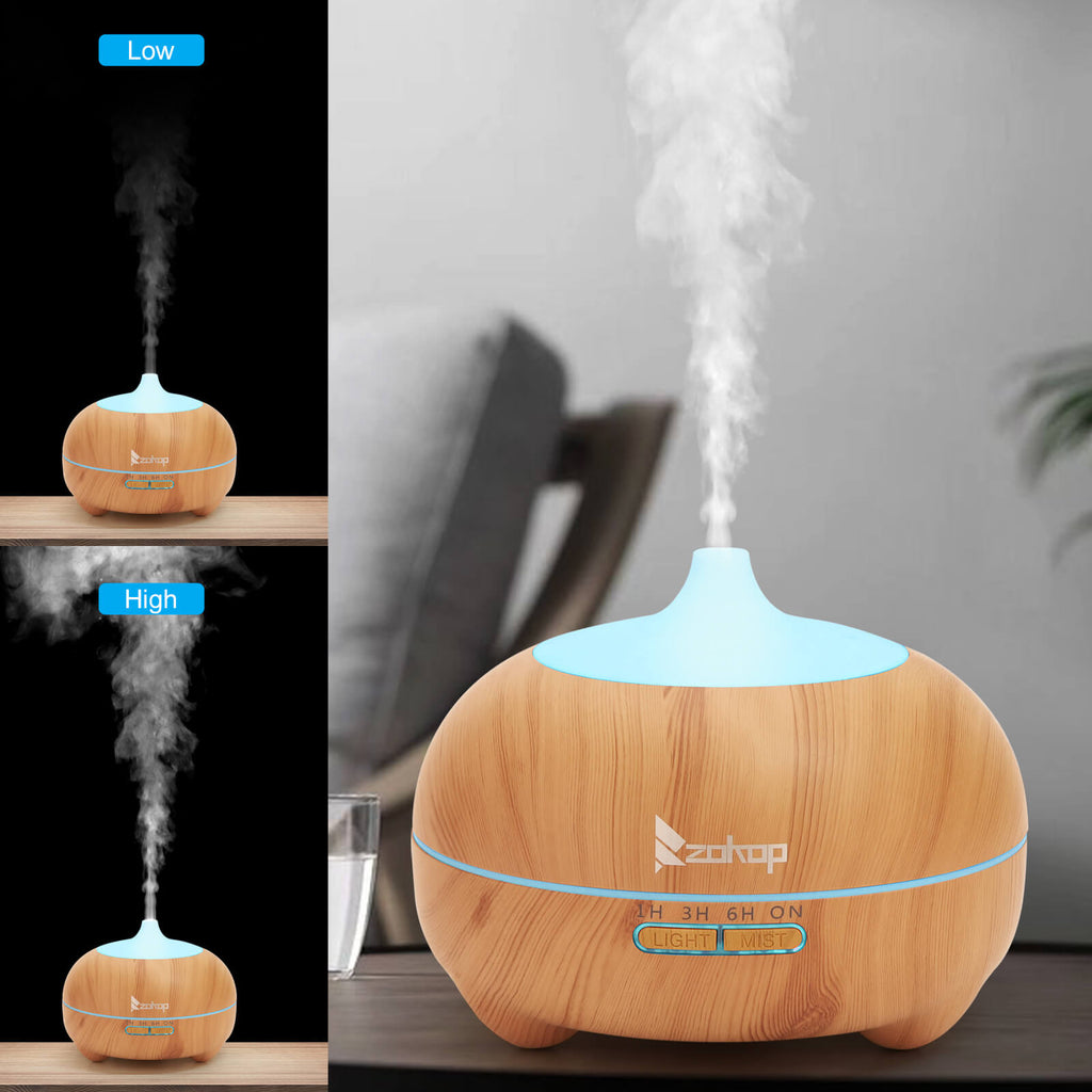 Colorful Light Essential Oil Diffuser  Aromatherapy 11