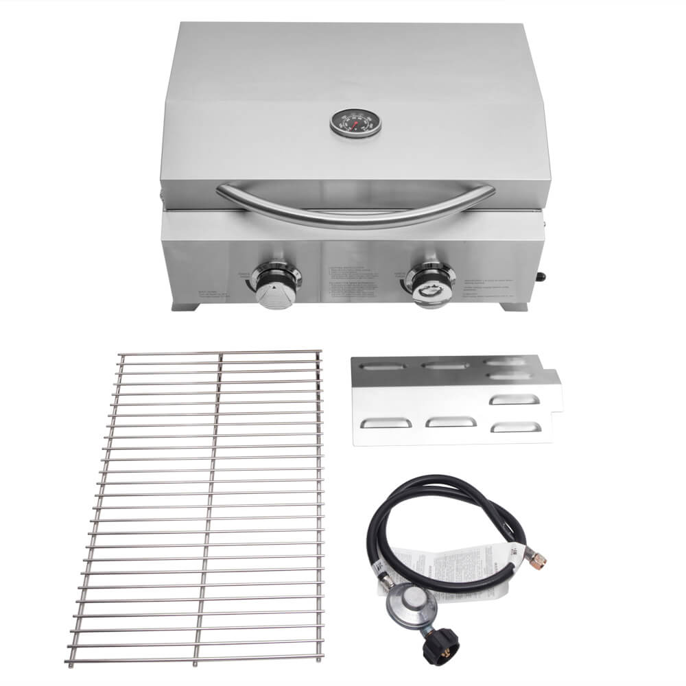 Double Head Small Gas Grill 9