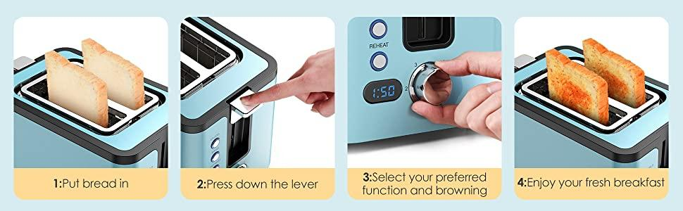 Hosome toaster specification