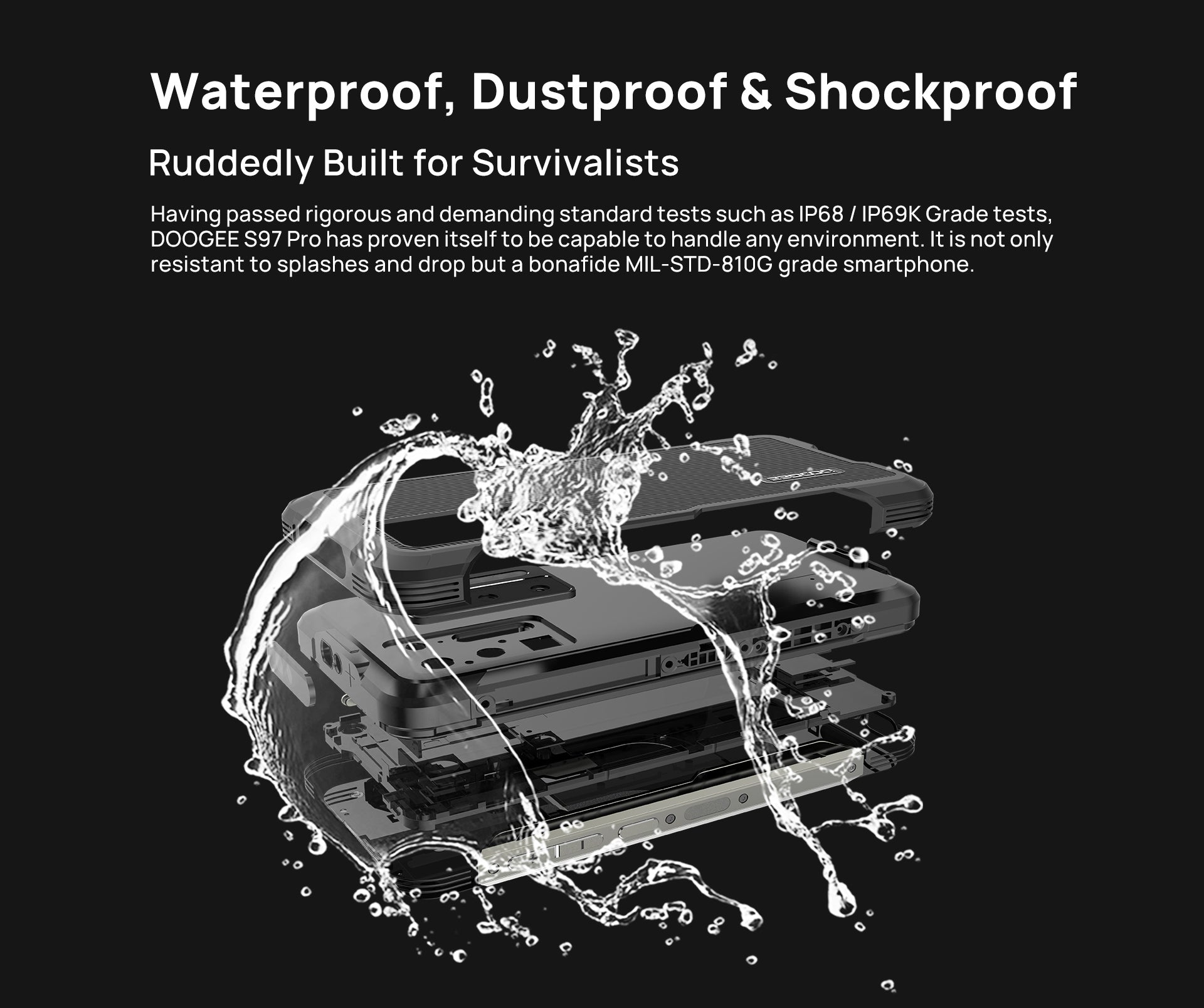 Doogee S97 Pro Rugged Phone unlock android phone