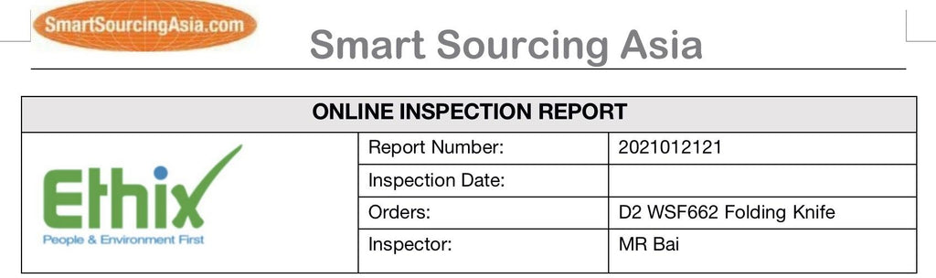 knife inspection report