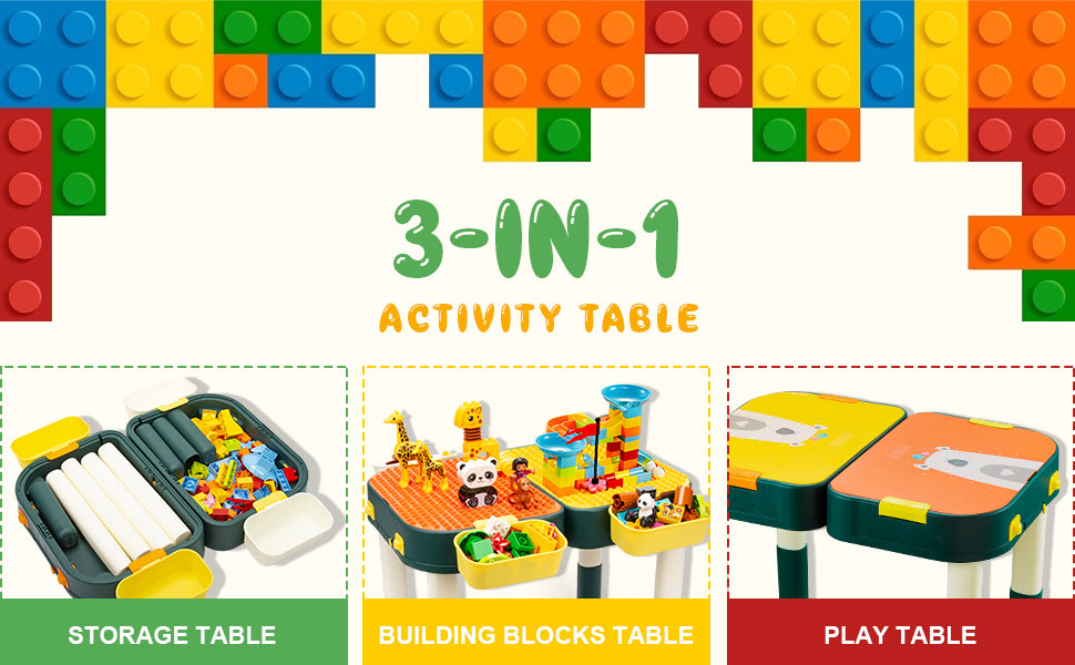 3 in 1 Activity Table