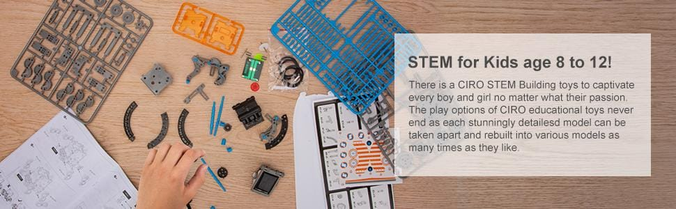 STEM for Kids age 8 to 12