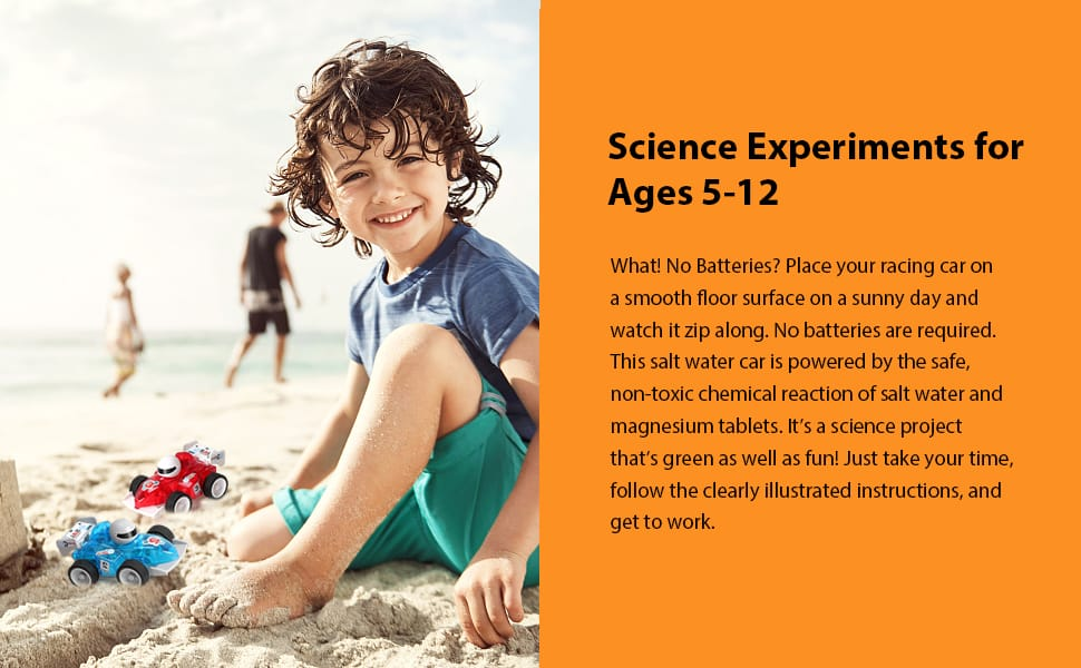 Science Experiments for Ages 5+