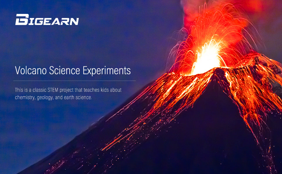 Volcano Science Experiments for Kids