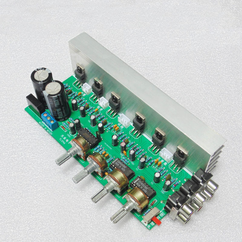 TDA2030 5.1 Channel Audio Amplifier Board 6*18W 6 channels Surround Center Subwoofer Power Amplifiers For Home Theater
