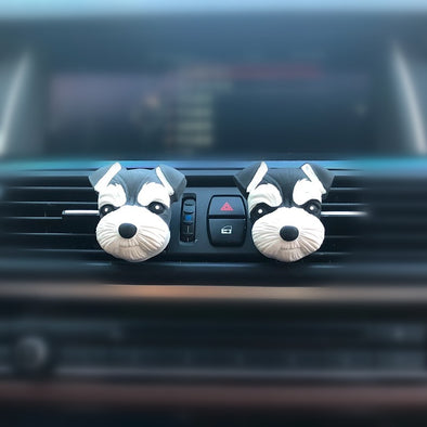 I love my Schnauzer - Car Air Vent Decoration