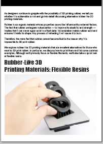 Wanhao Rubber resin catalogue