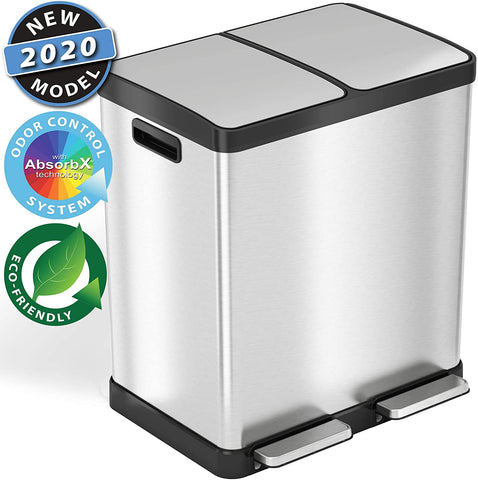 Best Dual Trash Cans For Recycling 2020 Buying Guide And Expert Review Lululook