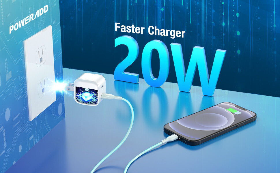 18W PD Fast Charger USB-C Adapter