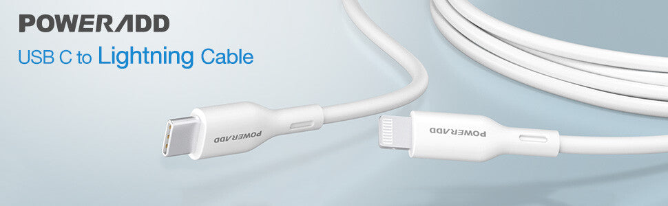 USB C to Lightning Cable for Power Delivery Fast Charging 3ft