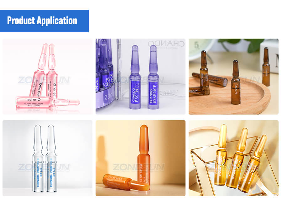 Application of Ampoule Filling Sealing Machine