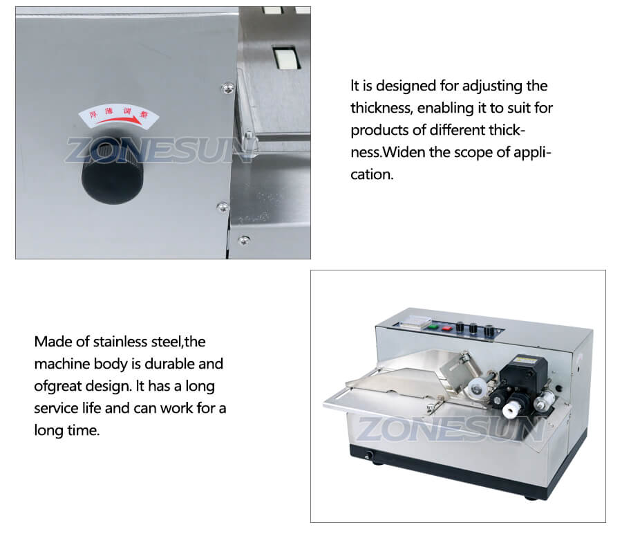 Details of MY-380F Semi-automatic Pouch Coding Machine