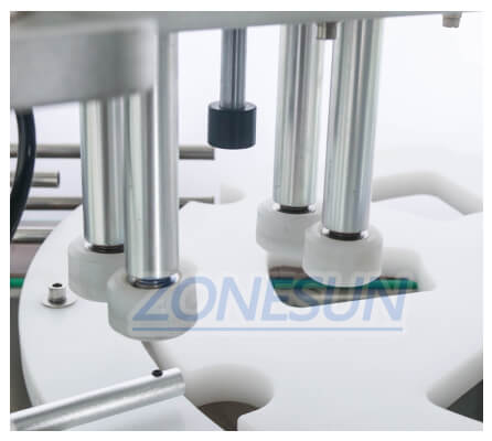 Capping Chuck of ZS-AFC1 Monoblock Filling Capping Machine