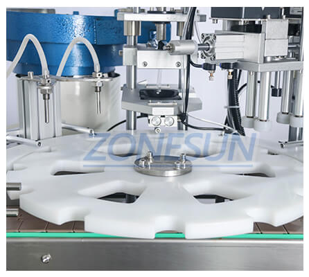 Starwheel of of ZS-AFC1 Monoblock Filling Capping Machine