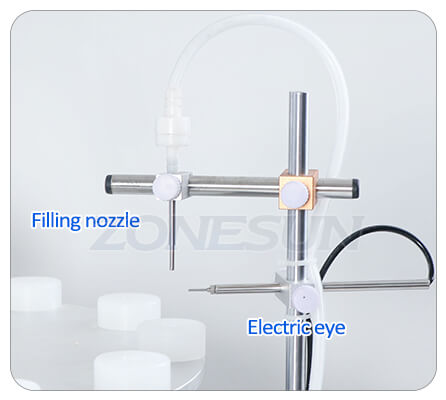 Filling Nozzle of Small Bottle Filling Capping Machine