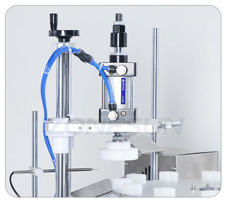 Pressing Head of Small Bottle Filling Capping Machine