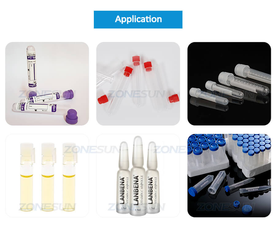 Application of Small Bottle Filling Capping Machine
