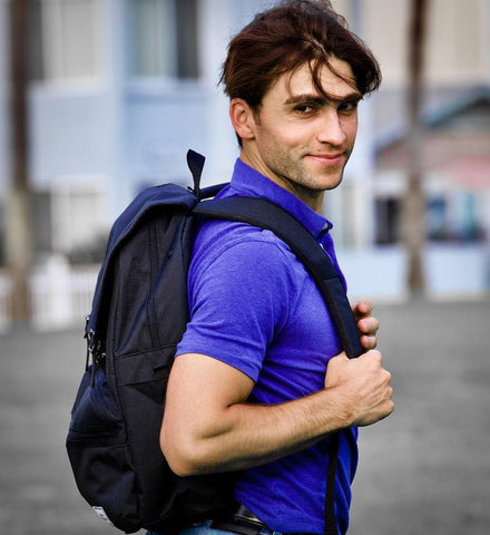 Lightweight Rucksack Slim Anti Theft Computer Bag Black Color Stylish and Fashionable for daily use - Ulakcases