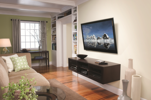 mount your tv makes the room bigger