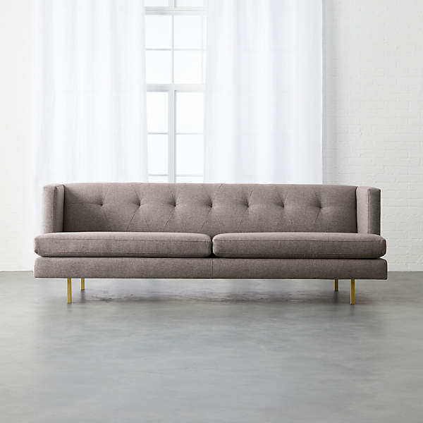 furniture with long legs makes the room bigger