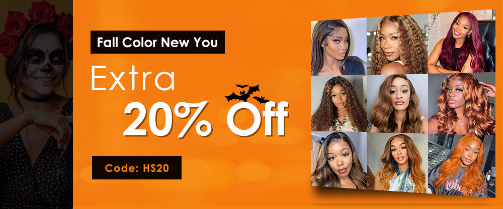 20% off for all wigs