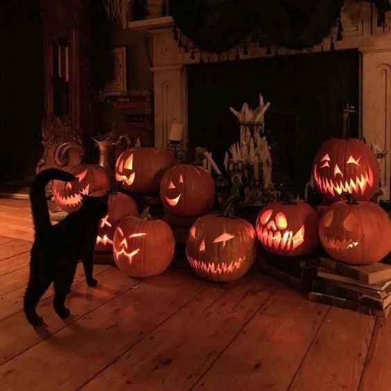 Decorate your house for Halloween