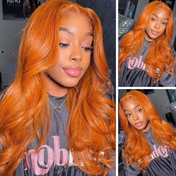 Ginger Orange Fall Colored Wig Lace Part Wig $99 Flash Sale.png