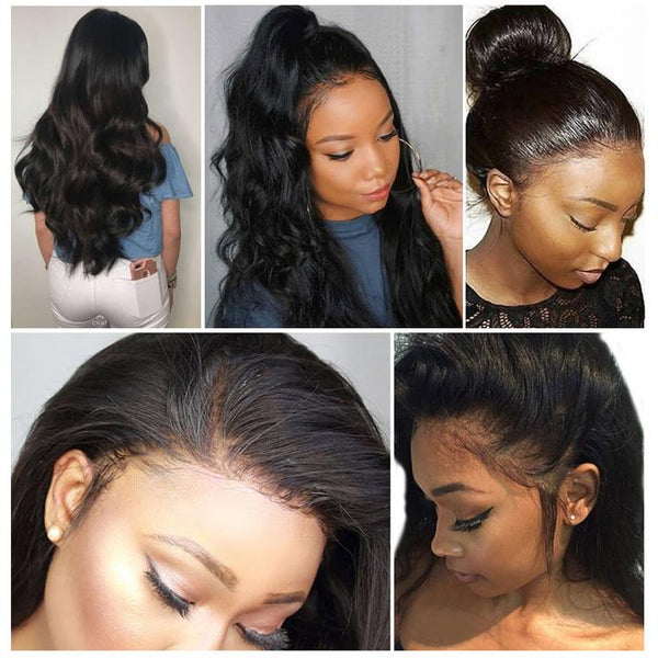 body wave hair 13x4 lace front wig after pay