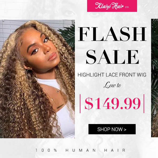 flash sale $149.99 for curly lace front wig TL412