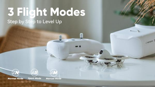 Three flight modes of the Cetus pro quad, making you a pro in the FPV field step by step