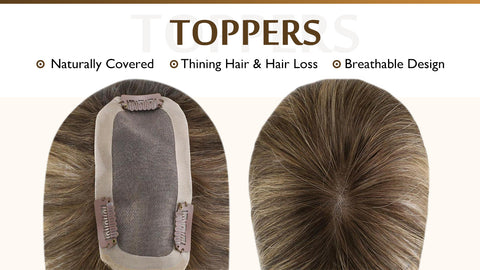 hair wig toppers
