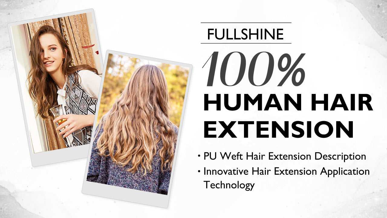 Invisible Human Hair Weft