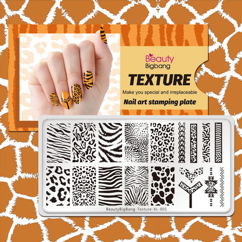 Natural Animal Leopard Print Texture S Theme Image Template Mold Nail Beautybigbang