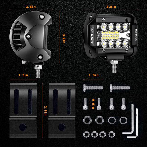 whole package for jeep work light