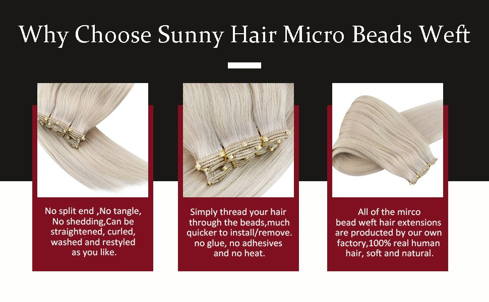 Why_choose_sunny_hair_micro_beads_weft_human_hair