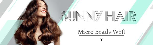 sunny_hair_micro_beads_weft_human_hair_extensions