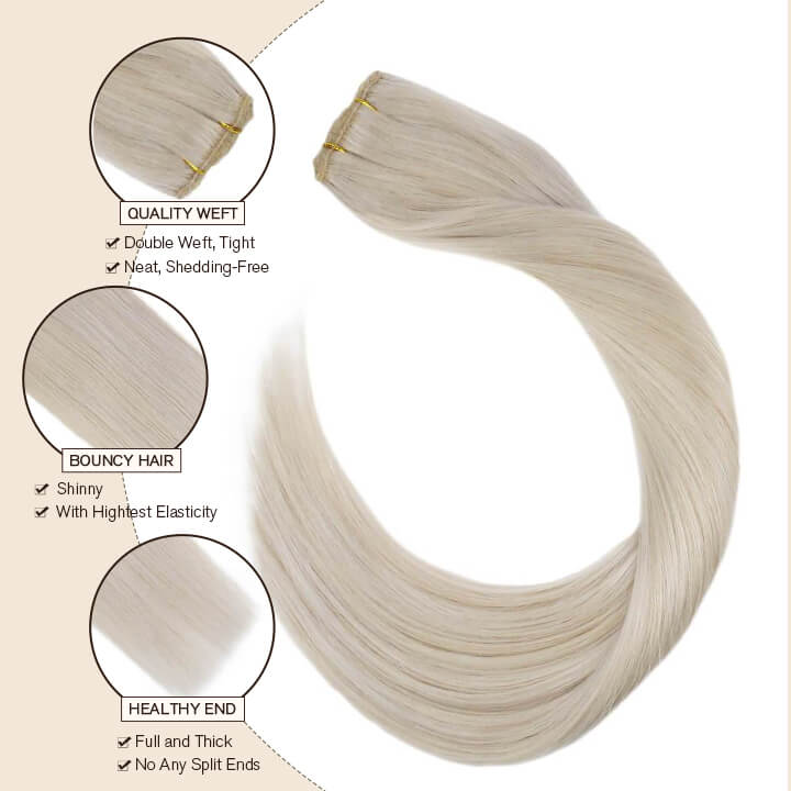clip in hair extension one piece