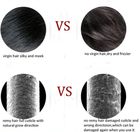 What happens to the damaged hair scales?