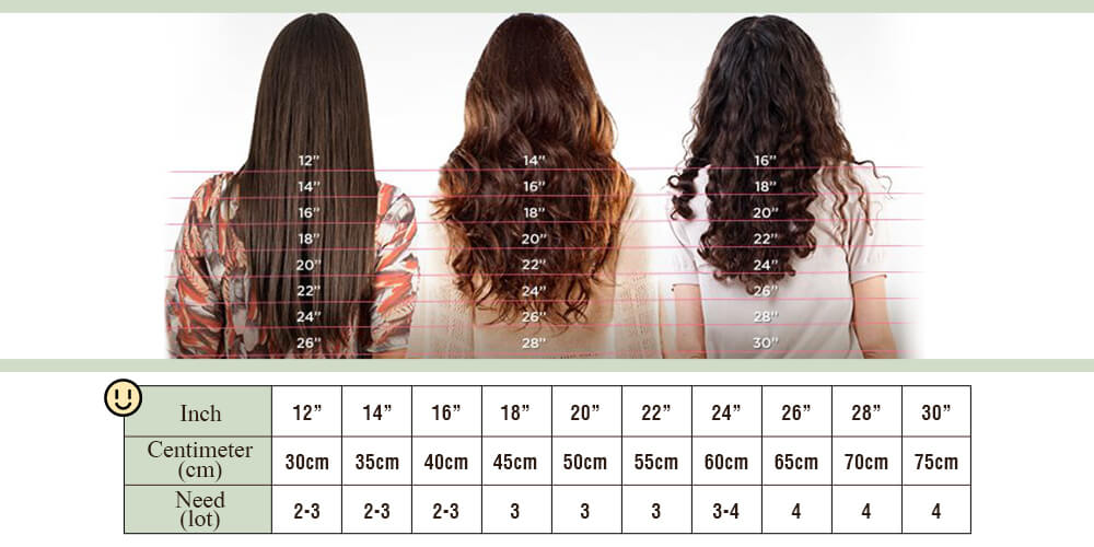 clip in human hair extensions for beauty