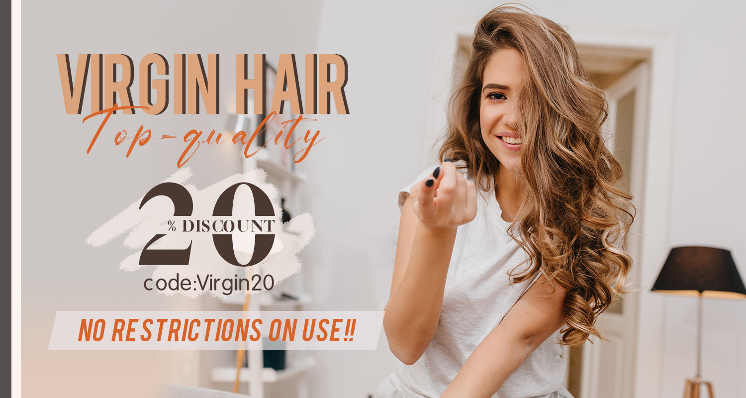 virgin hair flat silk weft hair