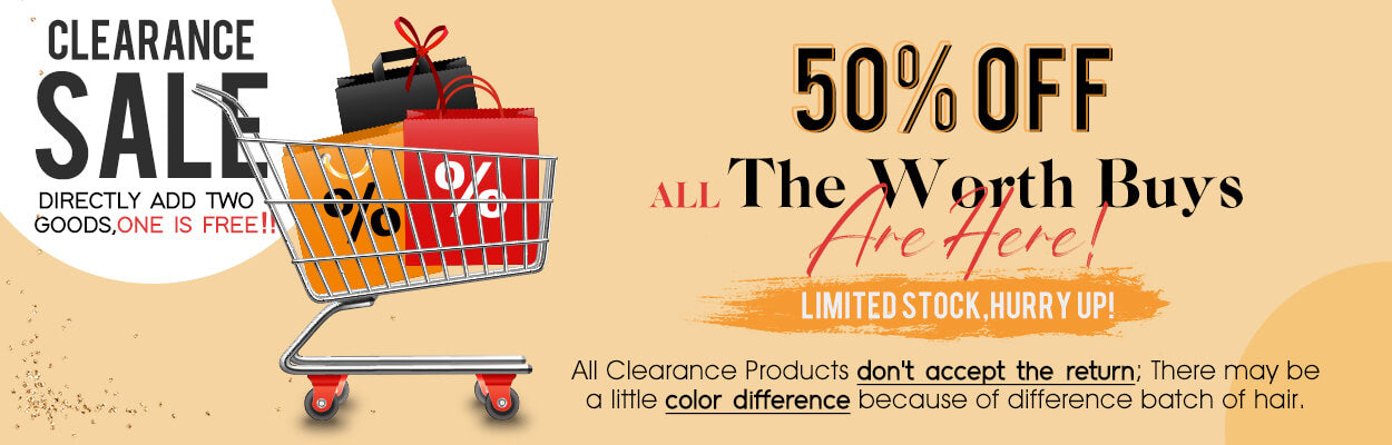 clearance product buy 1 get 1 free