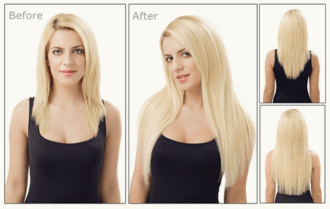 hair extensions to add hair length