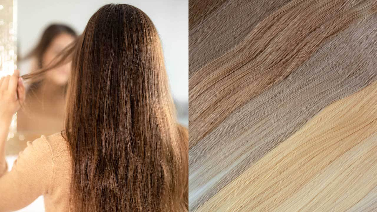 how to choose different hair extensions