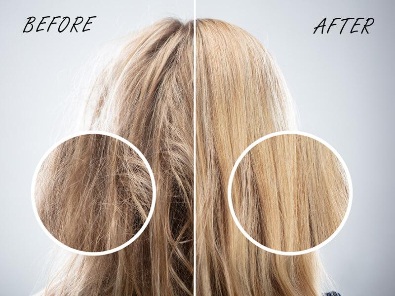 how to fix your dry hair