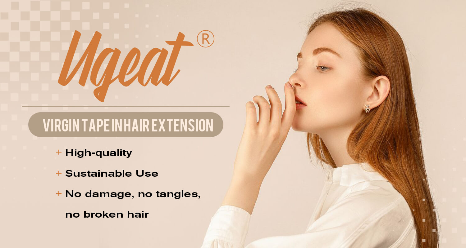 ugeat virgin tape in hair extension