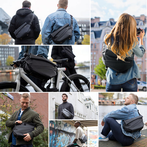 Top selling on Kickstarter,   Pre- purchase of New product NIID bag R1 Radiant Urban Sling is available now