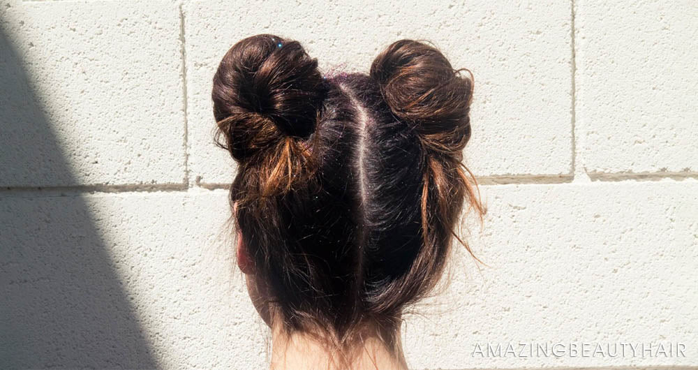Simple Double Bun